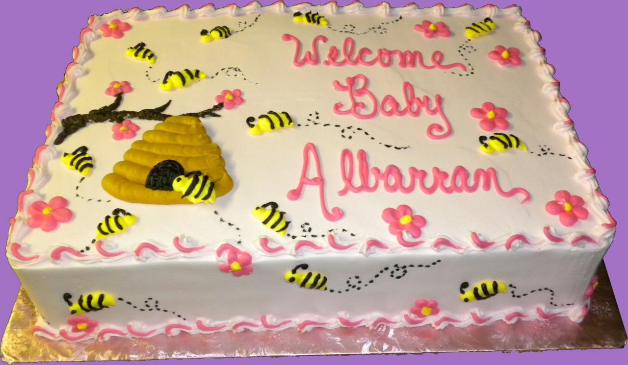 baby shower cakes sugar showcase