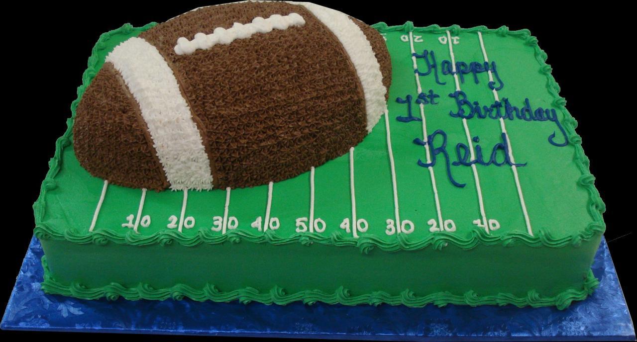 Football Theme Sheet Cakes