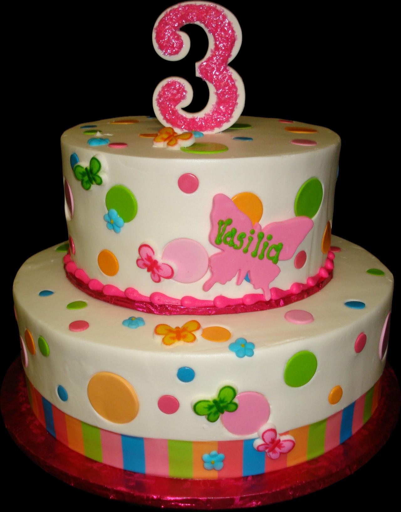Cake Designs For Baby Girl 3rd Birthday : Birthday Cakes Sugar Showcase