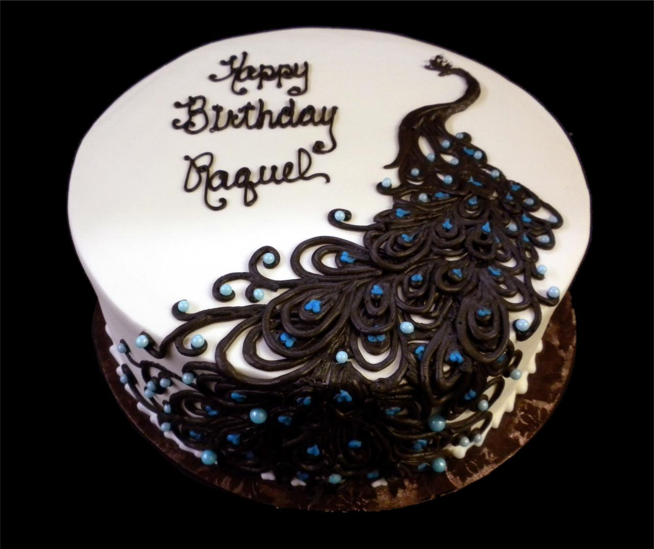 Peacock Cakes And Peacock Theme Everything on Pinterest