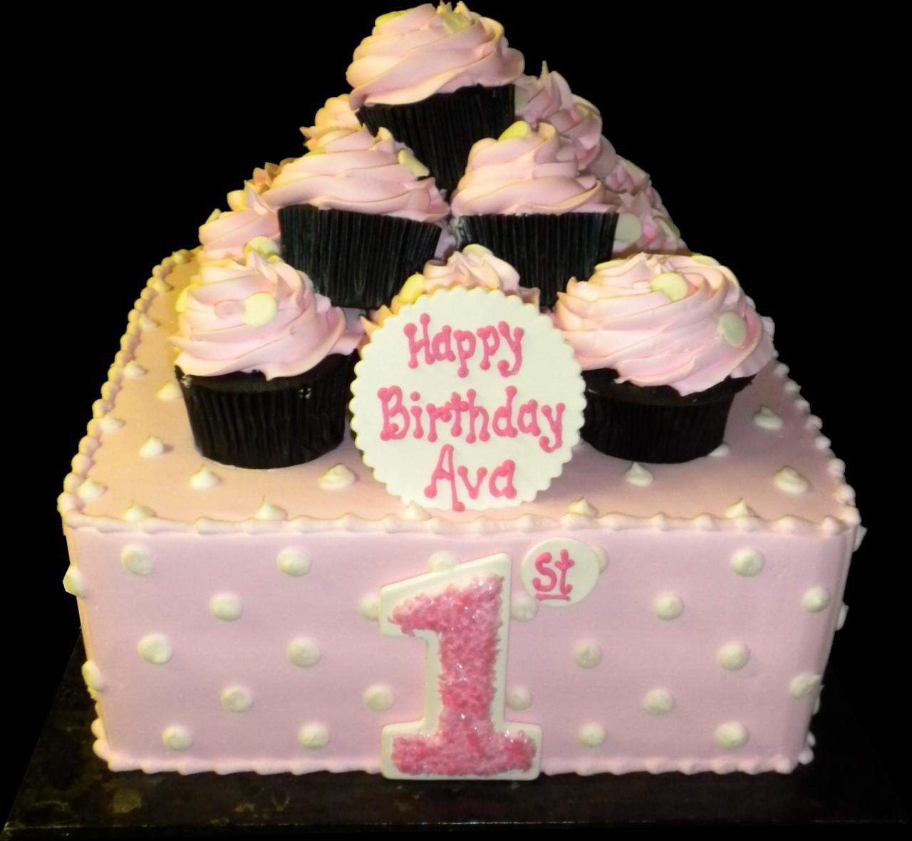 Buttercream Square Birthday Cake