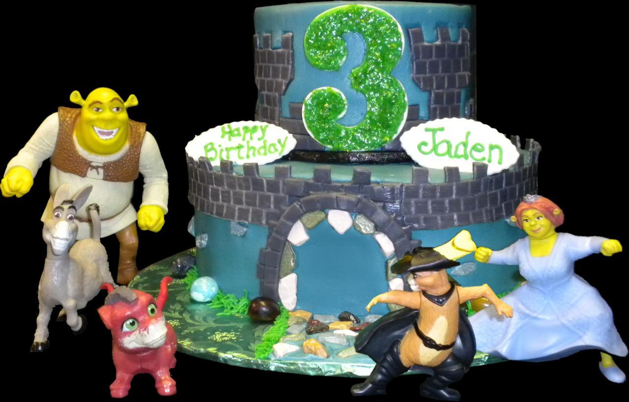 Caillou And Gilbert Cake