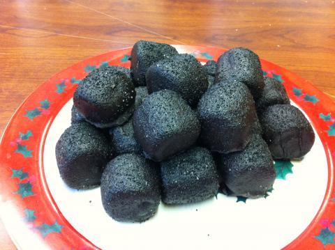 Christmas Coal Sugar Showcase